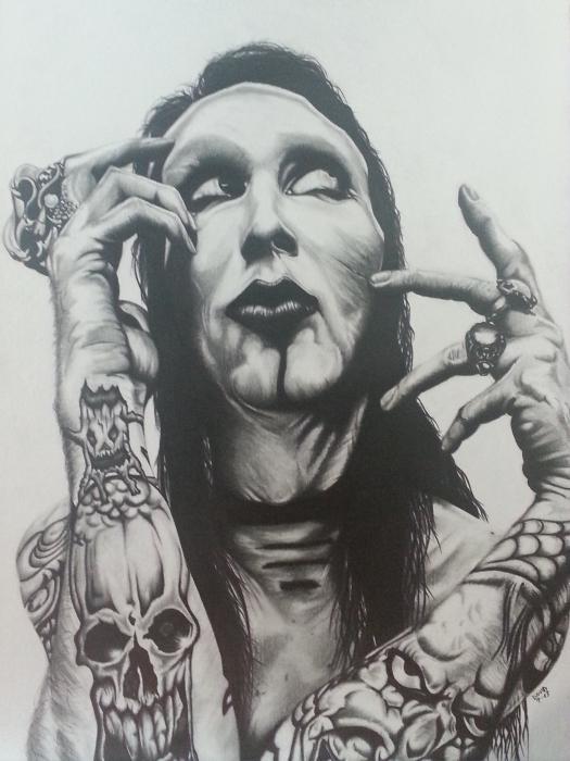 Marilyn Manson by Callahan